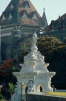 Flora-Fountain  Hutatma Chowk, Bombay (Mumbai), Maharashtra, Indien.