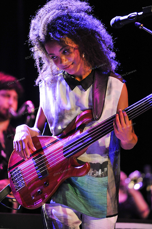 Esperanza Spalding Plays the Vogue Theatre June 23, 2013 in the TD Vancouver International Jazz Festival