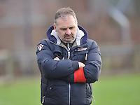 Beerschot AD - KVK Tienen : Beerschot trainer Coach Paul Lauwereins.foto DAVID CATRY / JOKE VUYLSTEKE / Vrouwenteam.be