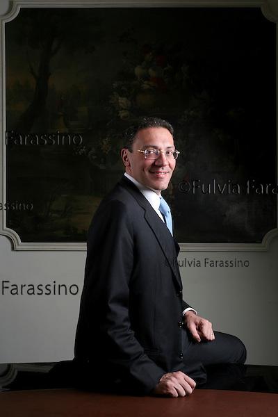 Fabio Innocenzi.Milano, 21 aprile 2006. © Fulvia Farassino