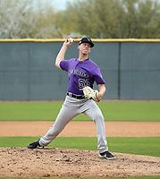 Cayden Hatcher - Colorado Rockies 2020 spring training (Bill Mitchell)