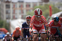 Lars Bak (DEN/Lotto-Soudal) up 23rd street<br /> <br /> Elite Men Road Race<br /> UCI Road World Championships Richmond 2015 / USA