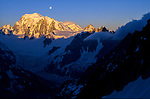 Mont Blanc and Glacier du Géant, Chamonix, France, 2000