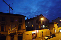- Milan, Barona district....- Milano, quartiere Barona