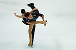 TAIPEI, TAIWAN - JANUARY 24:  Wenting Wang and Yan Zhang of China perform their routine at the Pairs Free Skating event during the Four Continents Figure Skating Championships on January 24, 2014 in Taipei, Taiwan.  Photo by Victor Fraile / Power Sport Images *** Local Caption *** Wenting Wang; Yan Zhang