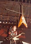 Budgie, Burke Shelley, John Thomas Budgie 1982 Reading Rock Festival