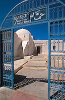 Türkisches Bad in Houmt Souk, Djerba, Tunesien