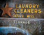 Star Cleaners panel truck in Yocona, Miss. in 2012.