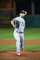 Glendale Desert Dogs pitcher Ryan Sherriff (23), of the St. Louis Cardinals organization, during a game against the Scottsdale Scorpions on October 14, 2016 at Scottsdale Stadium in Scottsdale, Arizona.  Scottsdale defeated Glendale 8-7.  (Mike Janes/Four Seam Images)