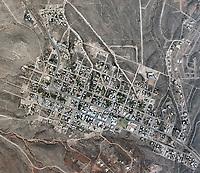 historical aerial photograph of Tombstone, Arizona, 1978