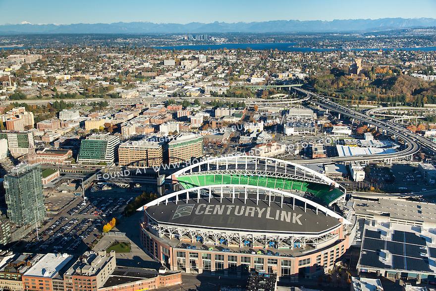 Aerial view of Seattle's CenturyLink Field
