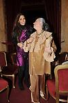 """LAVINIA E LAURA BIAGIOTTI<br /> PRIMA DE """"LA TRAVIATA"""" TEATRO DELL'OPERA DI ROMA 2009"""
