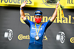 Mark Cavendish (GBR) Deceuninck-Quick Step wins Stage 4 of the 2021 Tour de France, running 150.4km from Redon to Fougeres, France. 29th June 2021.  <br /> Picture: A.S.O./Charly Lopez   Cyclefile<br /> <br /> All photos usage must carry mandatory copyright credit (© Cyclefile   A.S.O./Charly Lopez)