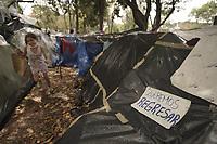 Migrantes Venezolanos Varados Dia 78 Cuarentena Coronavirus, Bogota, Colombia. 08-06-2020