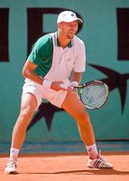 28-5-08, France,Paris, Tennis, Roland Garros, Vanek