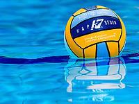 Official Ball<br /> KapSeven <br /> Budapest 15/01/2020 Duna Arena <br /> Greece (white caps) Vs. Slovakia (blue caps) Women<br /> XXXIV LEN European Water Polo Championships 2020<br /> Photo  ©Giorgio Scala / Deepbluemedia / Insidefoto