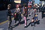 Kings Road Chelsea Saturday morning 1979.