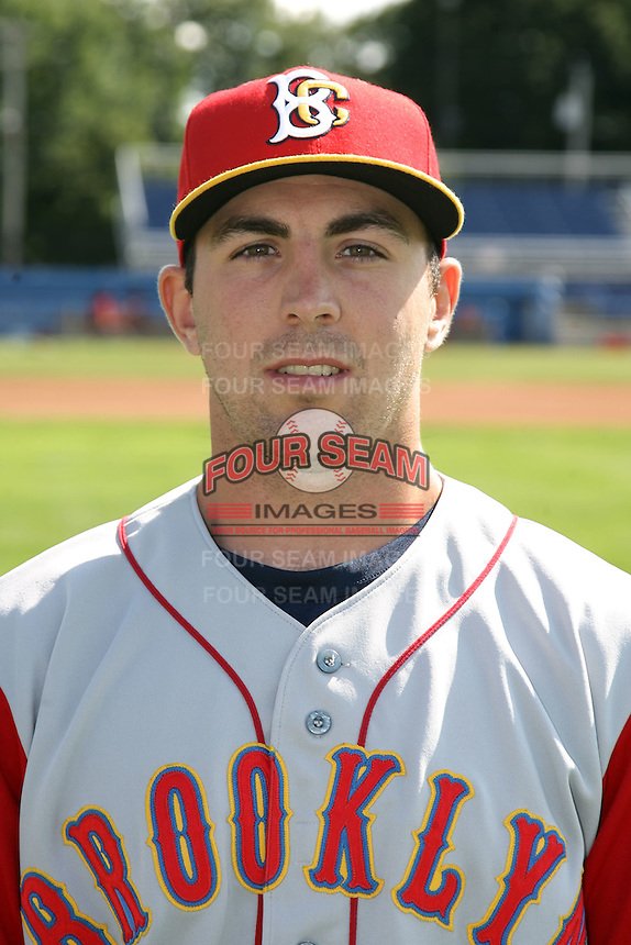 August 6, 2009:  Pitcher Jon Fuller of the Brooklyn Cyclones during a game at Dwyer Stadium in Batavia, NY.  The Cyclones are the Short-Season Class-A affiliate of the New York Mets.  Photo By Mike Janes/Four Seam Images