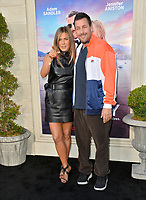 """LOS ANGELES, USA. June 11, 2019: Jennifer Aniston & Adam Sandler at the premiere of """"Murder Mystery"""" at Regency Village Theatre, Westwood.<br /> Picture: Paul Smith/Featureflash"""