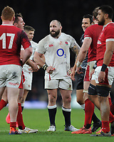 Joe Marler of England during the Guinness Six Nations match between England and Wales at Twickenham Stadium on Saturday 7th March 2020 (Photo by Rob Munro/Stewart Communications)