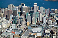 historical aerial photograph SOMA, San Francisco, California, 2006