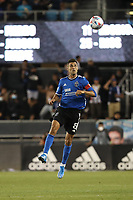 SAN JOSE, CA - AUGUST 13: Chris Wondolowski #8 of the San Jose Earthquakes during a game between Vancouver Whitecaps and San Jose Earthquakes at PayPal Park on August 13, 2021 in San Jose, California.