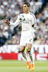 Real Madrid's Raphael Varane during Champions League 2014/2015 Quarter-finals 2nd leg match.April 22,2015. (ALTERPHOTOS/Acero)