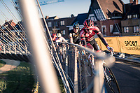 Pim Ronhaar (NED/Pauwels Sauzen-Bingoal)<br /> <br /> 2020 Urban Cross Kortrijk (BEL)<br /> men's race<br /> <br /> ©kramon