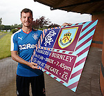 Andy Halliday promoting Rangers first public outing in tomorrow night's match with Burnley at Ibrox