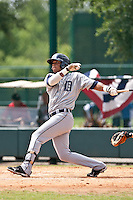 Gilbert Gomez of the Gulf Coast League Tigers during the game against the Gulf Coast League Braves July 3 2010 at the Disney Wide World of Sports in Orlando, Florida.  Photo By Scott Jontes/Four Seam Images