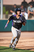 Colorado Rockies Colton Welker (71) during an Instructional League game against the Arizona Diamondbacks on October 7, 2016 at Salt River Fields at Talking Stick in Scottsdale, Arizona.  (Mike Janes/Four Seam Images)
