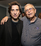Hershey Felder and Richard Maltby Jr. attend the Opening Night of 'Hershey Felder As Irving Berlin' on September 5, 2018 at the 59E59 Theatre in New York City.