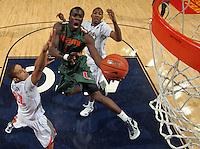20120106 Miami Hurricanes ACC Basketball vs Virginia