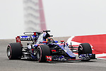 Brendon Hartley of New Zealand (39) in action before the Formula 1 United States Grand Prix race at the Circuit of the Americas race track in Austin,Texas.
