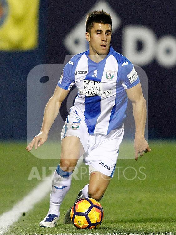 CD Leganes' Unai Bustinza during La Liga match. December 3,2016. (ALTERPHOTOS/Acero)