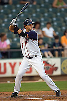 Boone, Aaron 4710.jpg.  PCL baseball featuring the Memphis Redbirds at Round Rock Express at Dell Diamond on August 25th 2009 in Round Rock, Texas. Photo by Andrew Woolley.