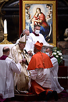 Cardinal Wilton D. Gregory  .Pope Francis leads a consistory for the creation of five new cardinals  at St Peter's basilica in Vatican.28 november 2020