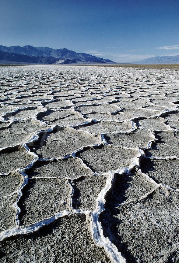 SALT FLATS - DEATH VALLEY NATIONAL PARK, CALIFORNIA
