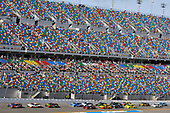 Monster Energy NASCAR Cup Series<br /> The Advance Auto Parts Clash<br /> Daytona International Speedway, Daytona Beach, FL USA<br /> Sunday 11 February 2018<br /> Denny Hamlin, Joe Gibbs Racing, FedEx Express Toyota Camry and Erik Jones, Joe Gibbs Racing, Circle K Toyota Camry<br /> World Copyright: Nigel Kinrade<br /> LAT Images