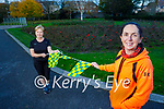 Tralee Not Park Run Kerry who are competing against their counterparts in Dublin, in a virtual park run. Front right: Siobhan Kearney with Kathleen Curtin
