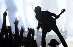Eric Church performs on the Main Stage at the Faster Horses music festival.  Photo taken on Friday, July 15, 2016 at Michigan International Speedway in Brooklyn, Mich.  (Jose Juarez/Special to The Detroit News)