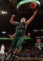 CHARLOTTESVILLE, VA- NOVEMBER 26:  Brennan Cougill #44 of the Green Bay Phoenix reaches for the rebound during the game on November 26, 2011 at the John Paul Jones Arena in Charlottesville, Virginia. Virginia defeated Green Bay 68-42. (Photo by Andrew Shurtleff/Getty Images) *** Local Caption *** Brennan Cougill