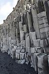 Columnar basalt at Reynisfjall