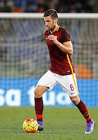 Calcio, Serie A:  Roma vs Palermo. Roma, stadio Olimpico, 21 febbraio 2016. <br /> Roma's Kevin Strootman in action during the Italian Serie A football match between Roma and Palermo at Rome's Olympic stadium, 21 February 2016.<br /> UPDATE IMAGES PRESS/Riccardo De Luca