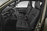 Front seat view of 2021 Toyota Hilux Invincible 4 Door Pick-up Front Seat  car photos