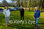 Enjoying a stroll in Muckross Gardens Killarney on Saturday, l to r:  Peggy Dowling, Elaine Daly and Miriam Malone.