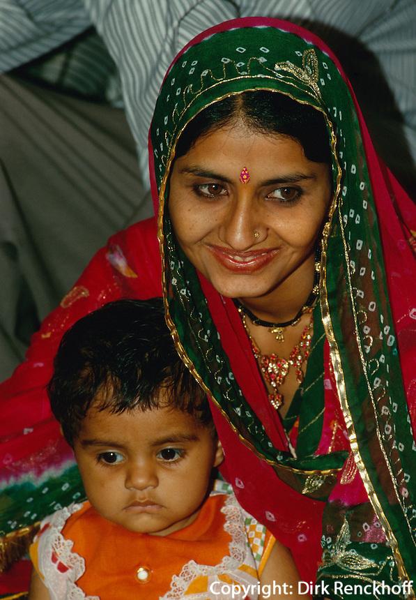Indien, Bikaner (Rajasthan), Hochzeitsgäste