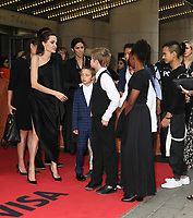 ANGELINA JOLIE WITH HER CHILDREN KNOX, SHILOH, PAX, ZAHARA AND MADDOX - RED CARPET OF THE FILM 'FIRST THEY KILLED MY FATHER' - 42ND TORONTO INTERNATIONAL FILM FESTIVAL 2017