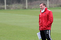 Swansea City FC, training session, Llandarcy, Swansea, 16/03/12<br /> Pictured: Manager Brendan Rodgers<br /> Picture by: Ben Wyeth / Athena Picture Agency<br /> info@athena-pictures.com