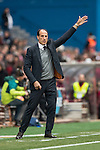 Manager Salvador Gonzalez, Voro, of Valencia CF during the match Atletico de Madrid vs Valencia CF, a La Liga match at the Estadio Vicente Calderon on 05 March 2017 in Madrid, Spain. Photo by Diego Gonzalez Souto / Power Sport Images